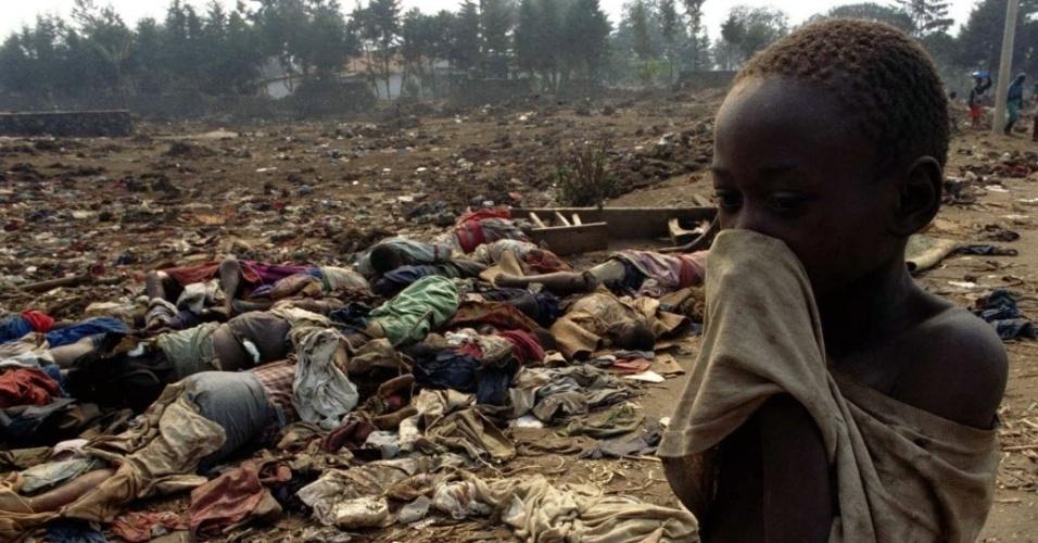 Uma temporada de facões em Ruanda