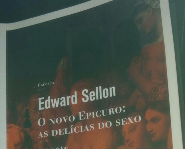 """""""O novo Epicuro: as delícias do sexo"""", de Edward Sellon"""