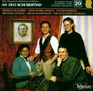 O disco An 1815 Schubertiad, de Schubert
