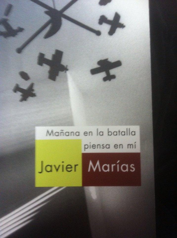 """""""Amanhã na batalha pensa em mim"""", de Javier Marías"""