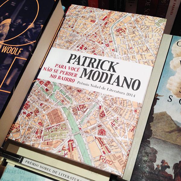"""""""Para Você não se Perder no Bairro"""", de Patrick Modiano"""
