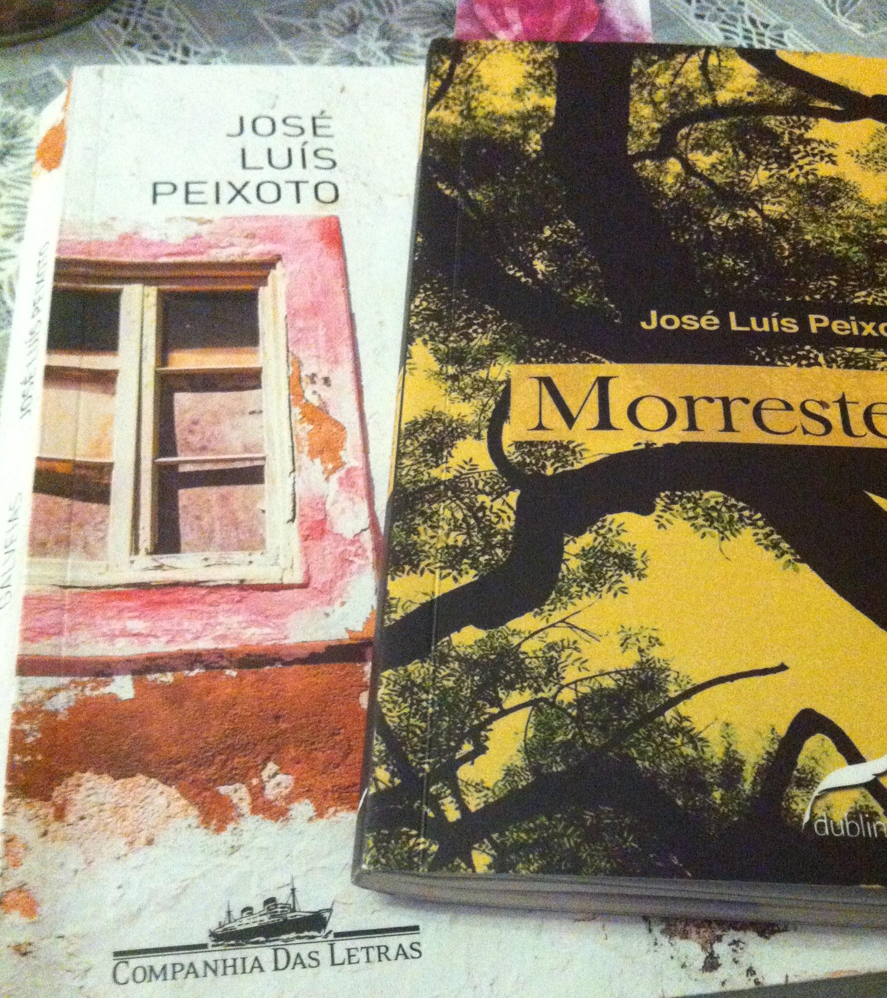 Dois livros de José Luís Peixoto