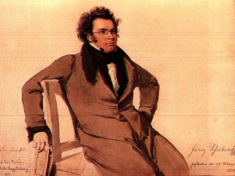 """""""Auf den Tod einen Nachtigall"""", de Franz Schubert"""
