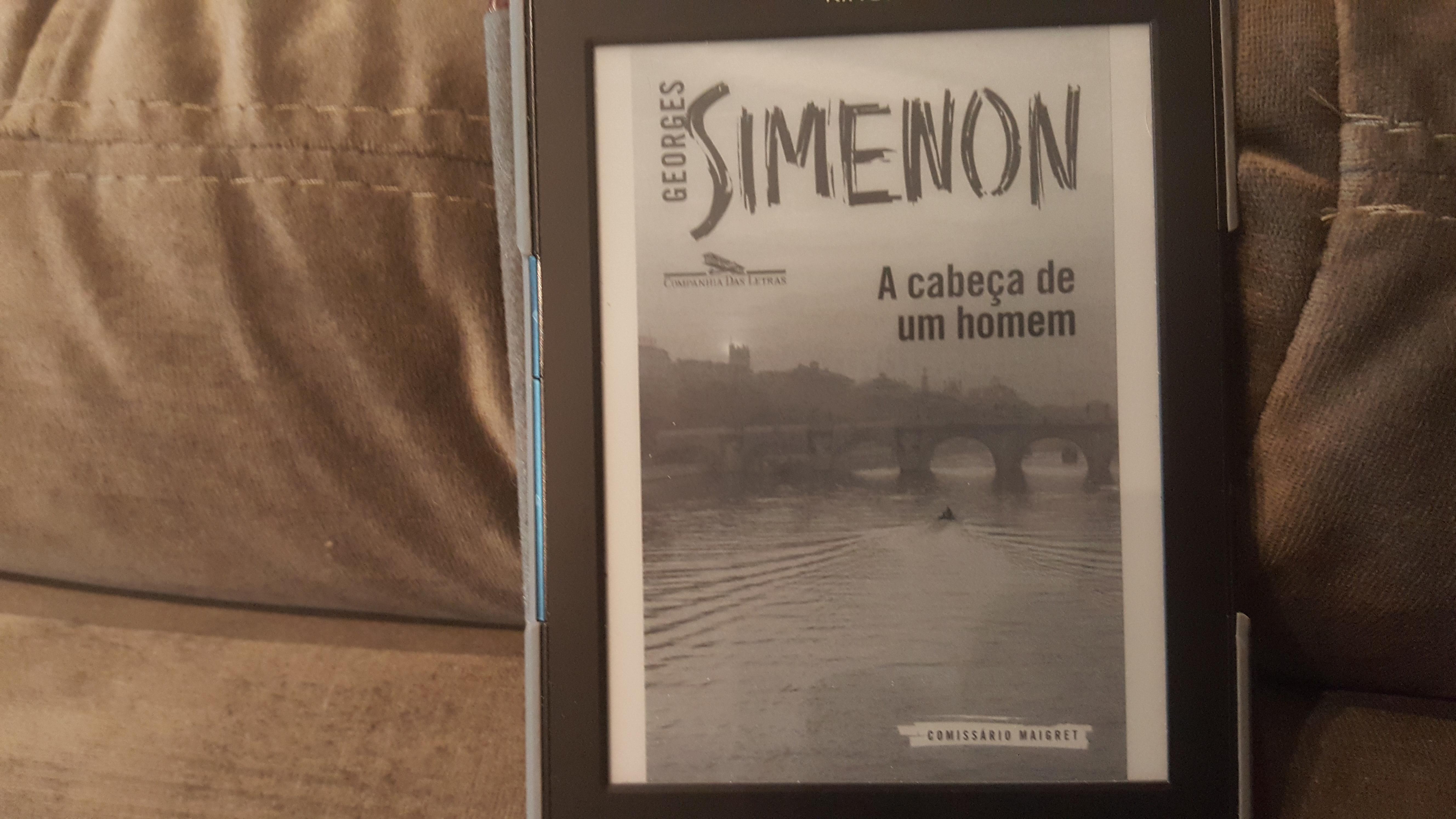 """""""A Cabeça de Um Homem"""", de Georges Simenon"""