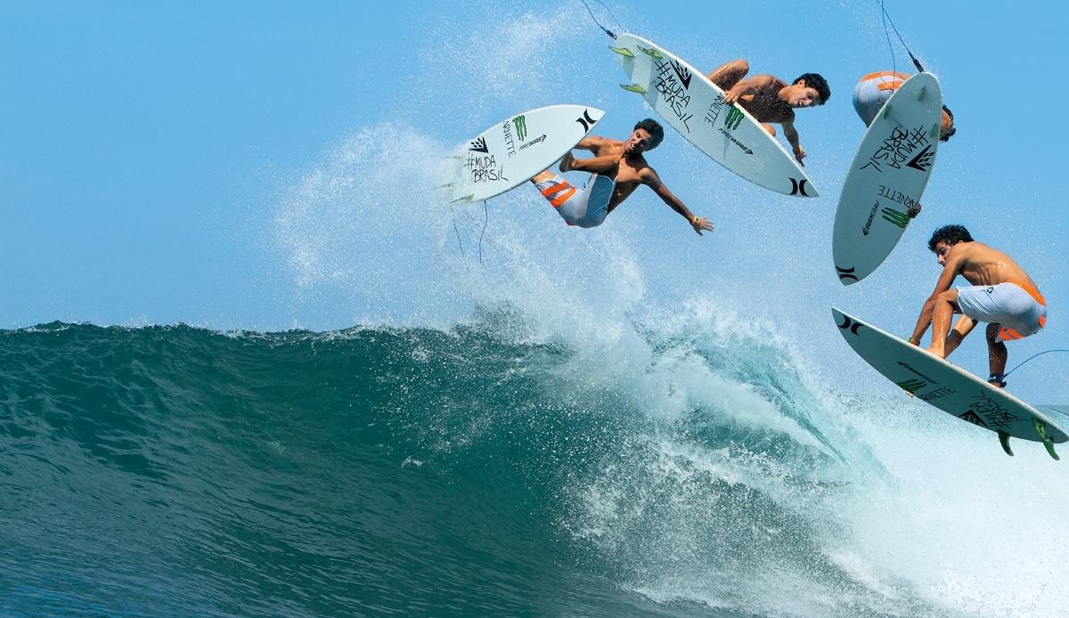 O surfista Paulinho