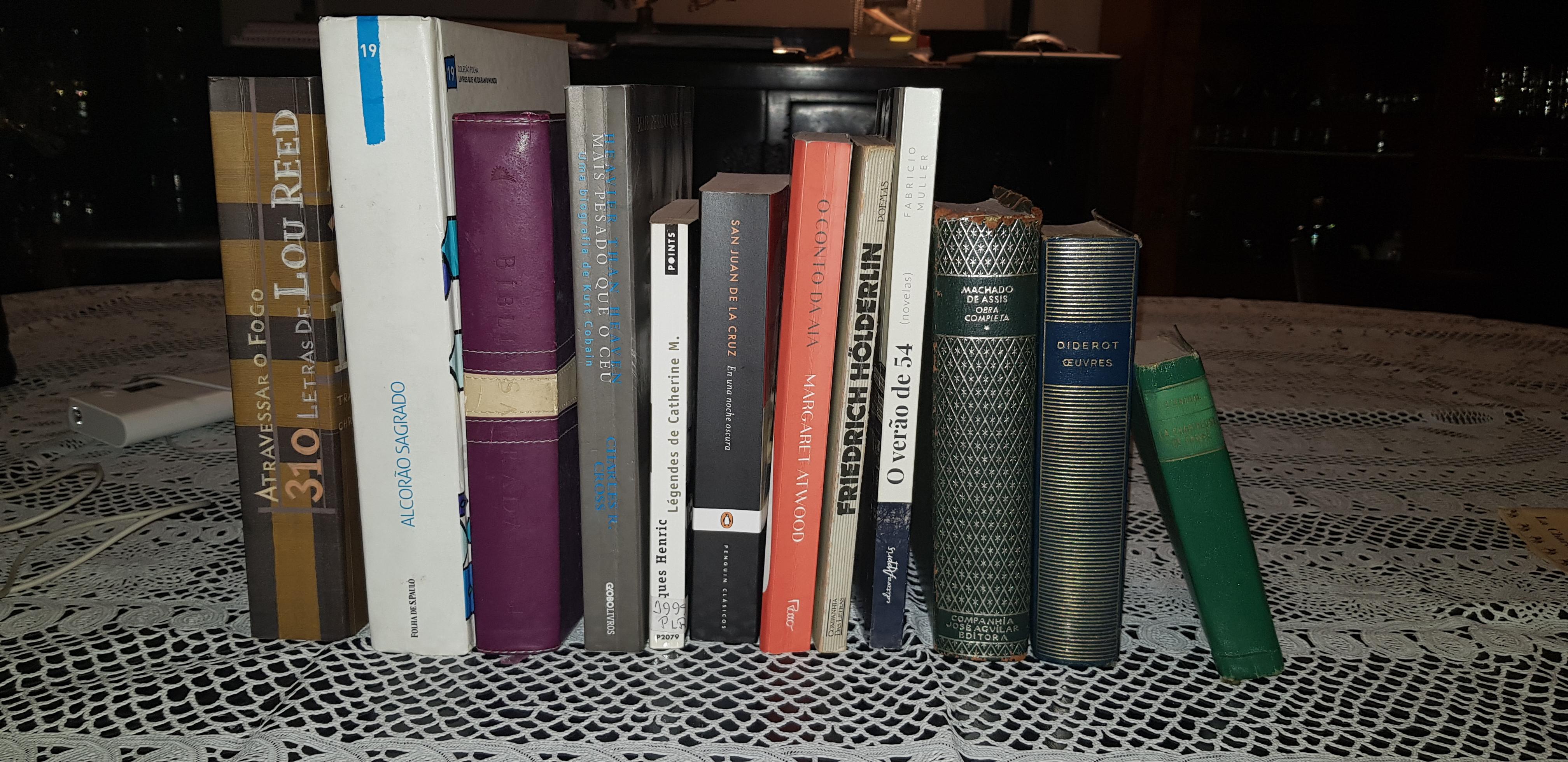 Os livros que eu levaria para o exílio