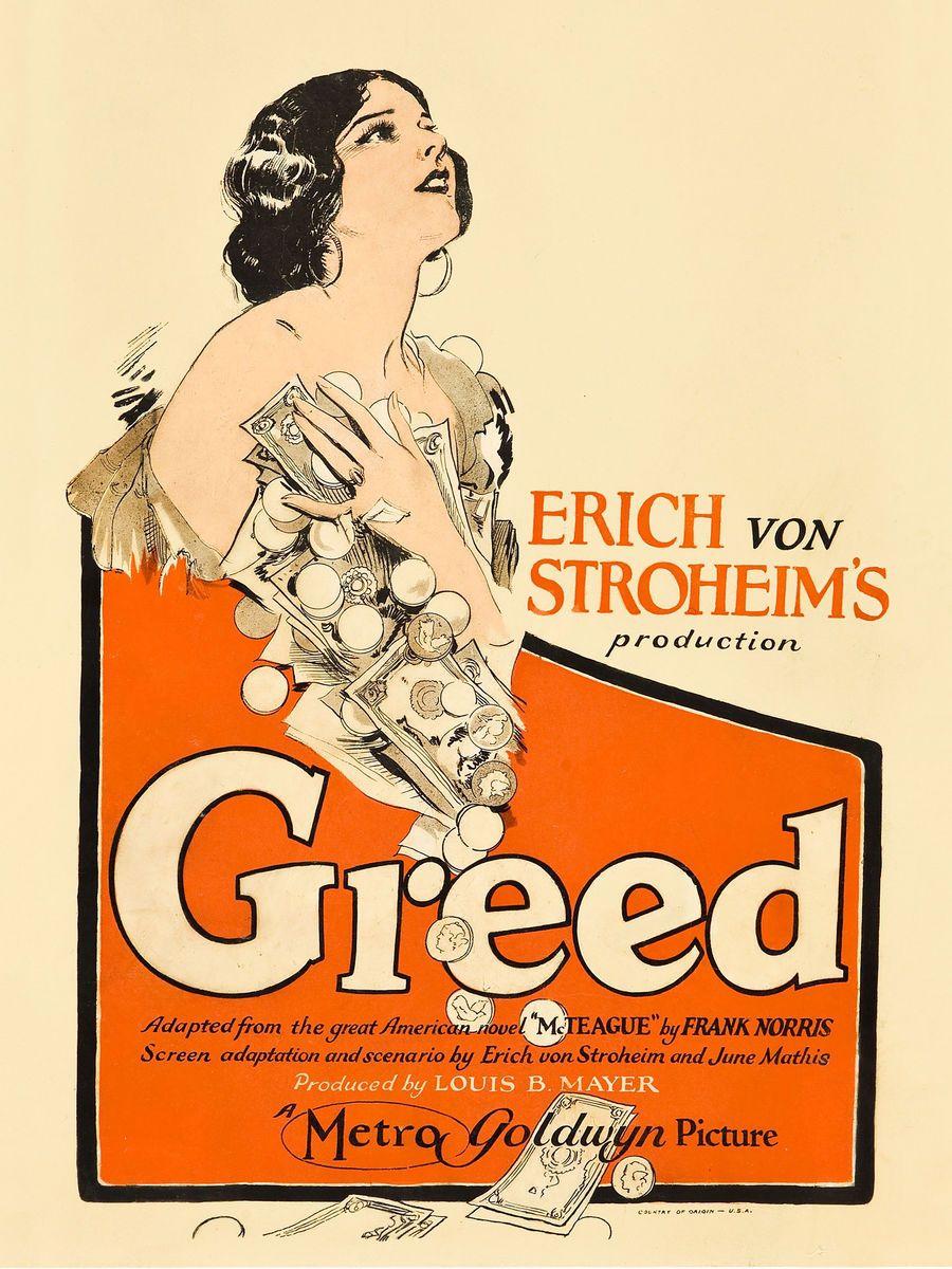 """""""Greed"""", de Erich von Stroheim"""
